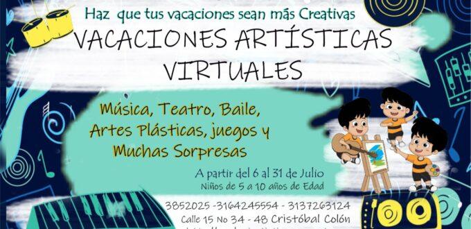 Vacaciones Artísticas Virtuales